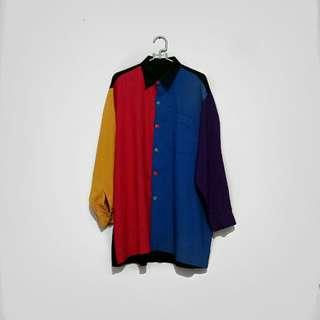 UNBRANDED Mixed Color Shirt