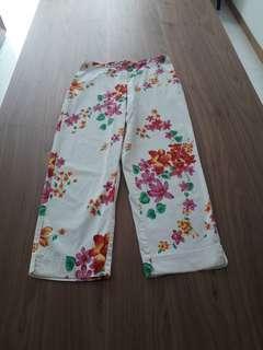 Ankle length straight pants USA