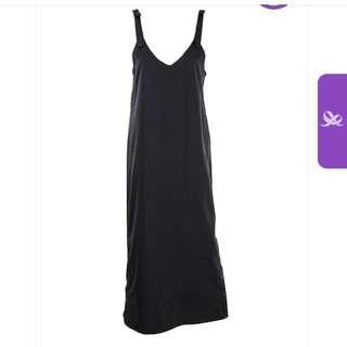 Plains and prints Jumper Dress