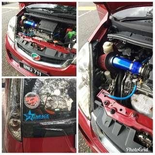 Perodua Myvi & Perodua Alza Performance Parts
