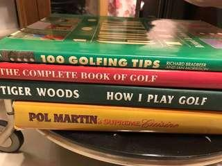 Reference golf books