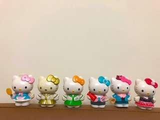 Hello kitty 公仔 7-11集點