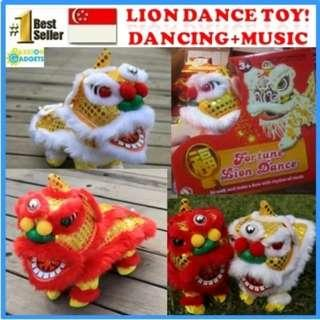 Mini Lion Dance Toy [Battery operated]