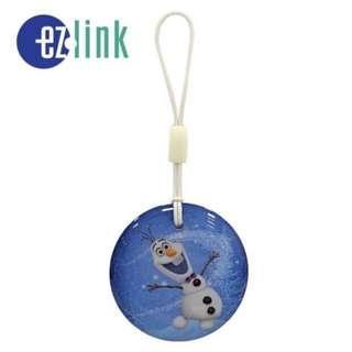 Frozen Olaf Snowman Ezcharm Ezlink ez charm EZ-Link