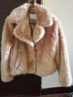 Bershka Fur jacket