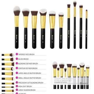 BH Cosmetics | Sculpt and Blend 3 - 10 Piece Brush Set