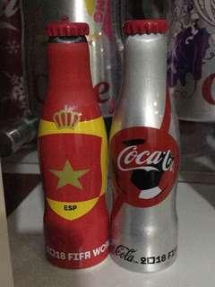 Coca Cola McDonald Mini bottle Mexico 2018