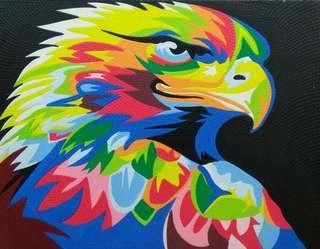 Eagle painting (90cm x 70cm)