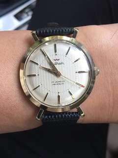 Vintage Waltham mechanical manual winding gent watch