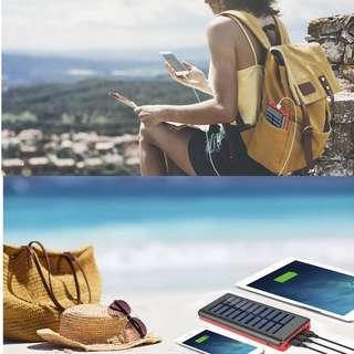Portable Solar Charger with Huge Capacity !!