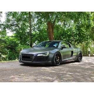 2008 Audi R8 4.2 FSI QUATTRO (A) Capristo Exhaust
