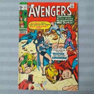 Avengers #83 - First Appearance of Valkyrie; The Lady Liberators