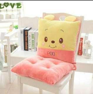 Pooh chair cushion