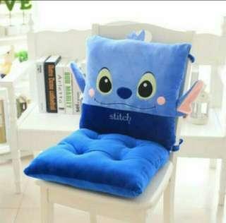 Stitch chair cushion