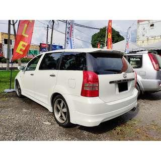 2005 Toyota WISH 1.8 FULL SPEC LX MODE IMPORT