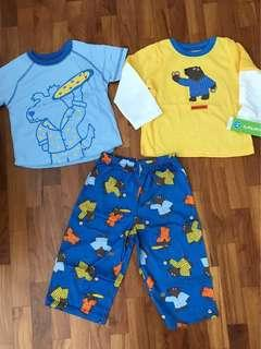BNWT Carter's pyjamas set (tagged 24 months)