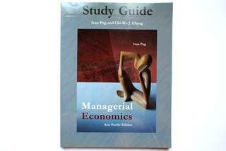 Managerial Economics Study Guide