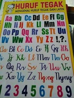 poster edukasi belajar pembelajaran