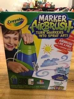 Crayola Marker Airbush