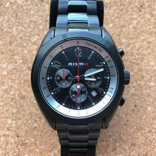 Nismo Black Titanium Watch
