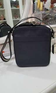 Coach Flight Bag Navy
