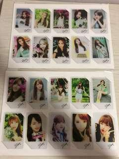 [CNY Sales] Gfriend frosted transparent card