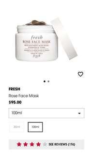 32% OFF Fresh Rose Face Mask 100ml