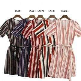 Kimono Ruffle Wrap Round Romper Skirt Dress 6a0046 PHP300 IN STOCK