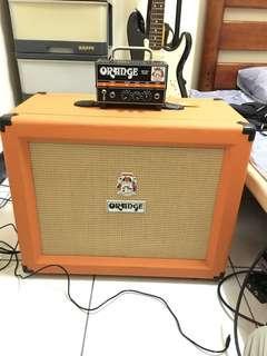 Orange micro dark + cab 112 吉他音箱 amplifier
