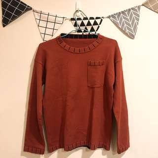 🚚 🍁楓葉橘🍁針織上衣