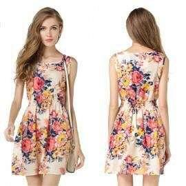Korean Casual Summer Sleeveless Dress 5a0019 PHP300