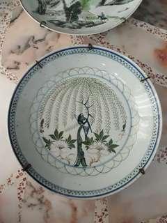 1950 porcelain plate 24cm dia.