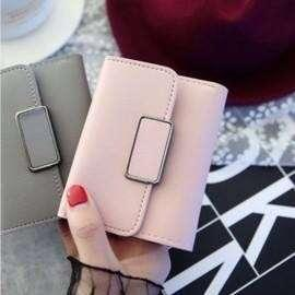 Simple Plain Short Wallet AM910 PHP200
