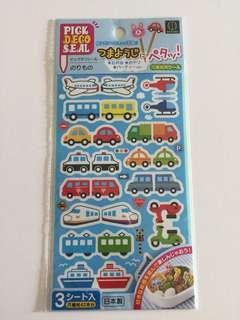 Sticker for toothpick and straw 貼紙 牙籤 吸管 車仔 便當🍱