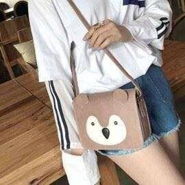 Cartoon Face Design Sling Bag ABD007 PHP210 TYLE: Sling bag