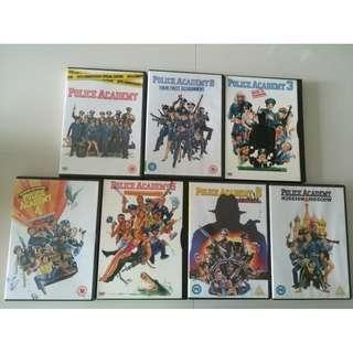 Police Academy - All 7 films