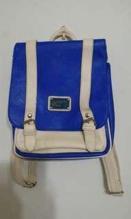 🚚 寶藍色後背包 書包