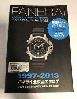 Panerai book -complete Pam numbers