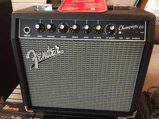 🚚 Fender champion20 電吉他音箱 20瓦