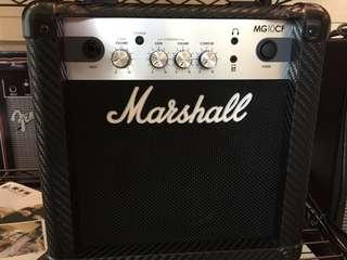 🚚 Marshall MG10 電吉他音箱 10瓦 for electric guitar