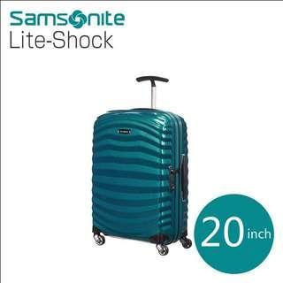Samsonite LITE-SHOCK universal wheel rod box fashion suitcase 20 inches