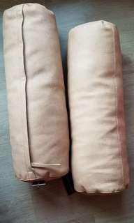 zara home cushions 仿皮 咕臣 頭枕 枕頭