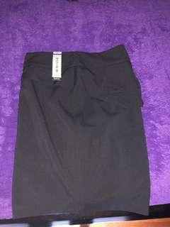 OFFICE/WORK BLACK PENCIL SKIRT