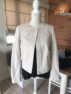 Cream jacket/blazer