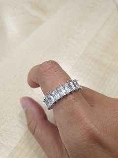 Zircon Princess Ring
