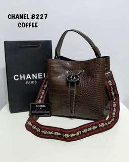 Chanel Bucket Bag Coffee