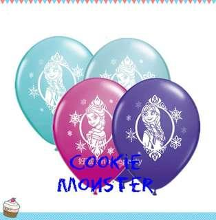 Frozen party supplies - party balloons / latex balloons / party deco