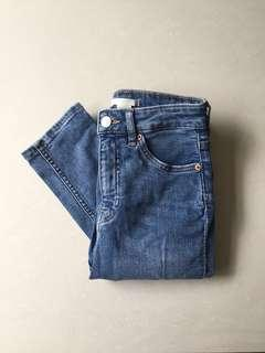 H&M High Waisted Jeans / Celana