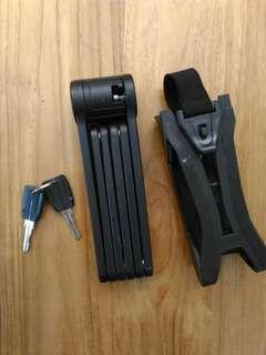 Bicycle Folding Lock compact and portable