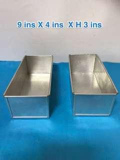 Loaf  tin / baking tin ( selling 2 together)